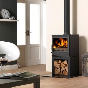ACR-Buxton-Multifuel-Stove-Log-Store
